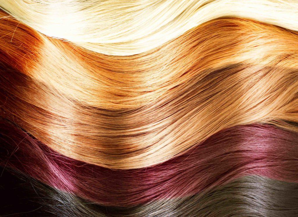 палитра для нарощенных волос