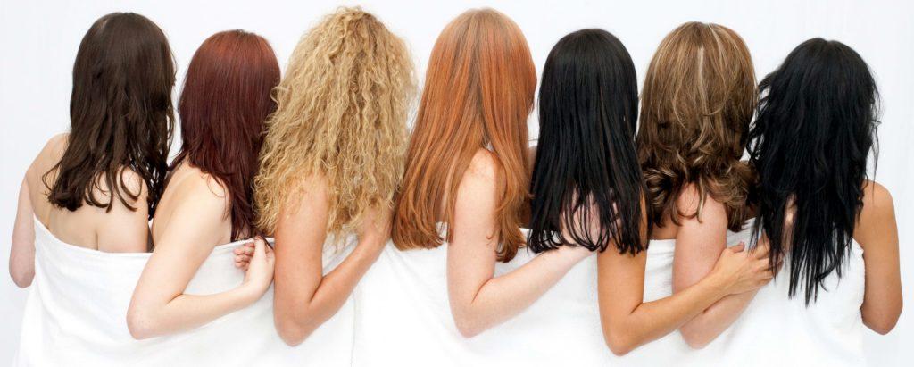 Типы происхождения волос