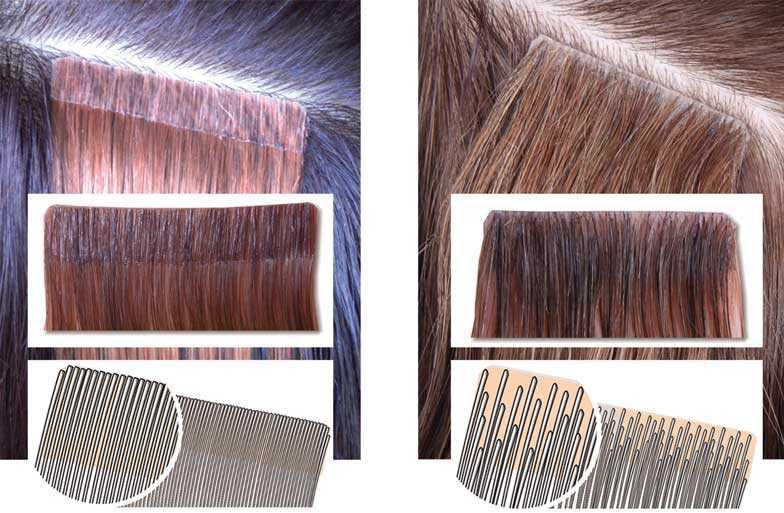 Биоленты для наращивания волос